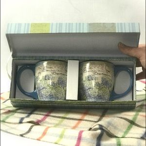 Set of Lang Collectible Boxed Coffee Cups